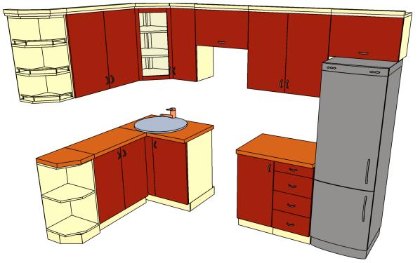 Как правильно сделать шкаф на кухню