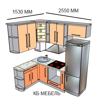 Дизайны маленькой кухни с газовой колонкой
